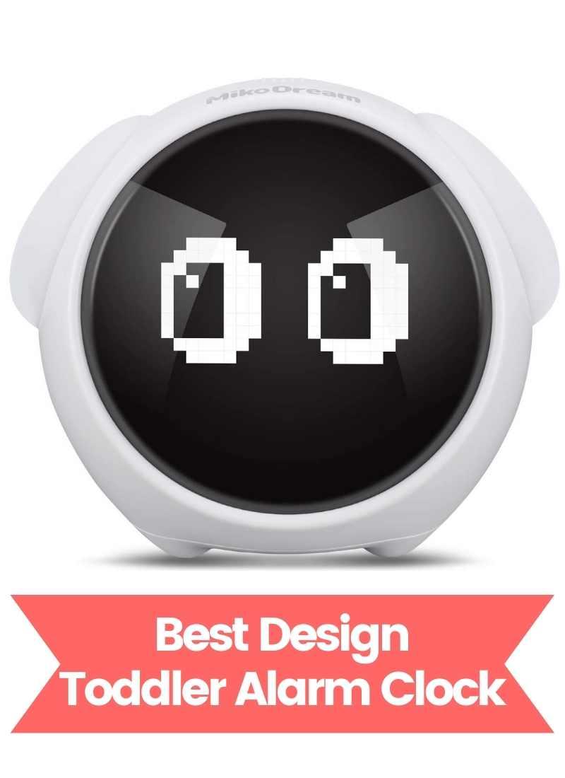 best design toddler alarm clock Miko Dream Toddler Alarm Clock