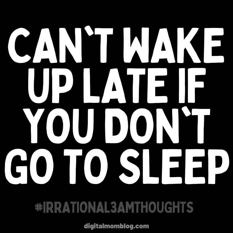 Waking up late - sleeping meme