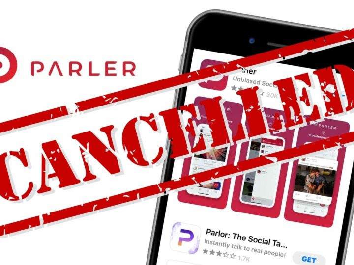 what happened to parler app cancelled