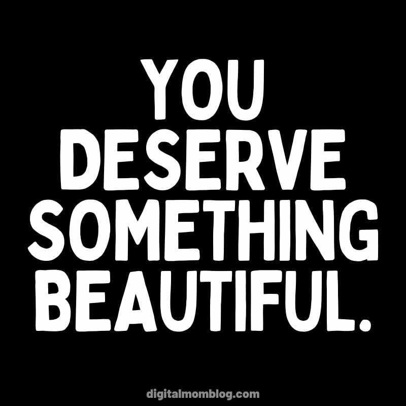 Do Something Beautiful Quote / Positive Image / Self Care / Self Love