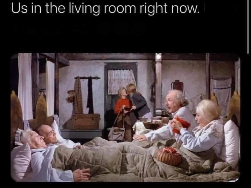 charlie grandpa winter meme