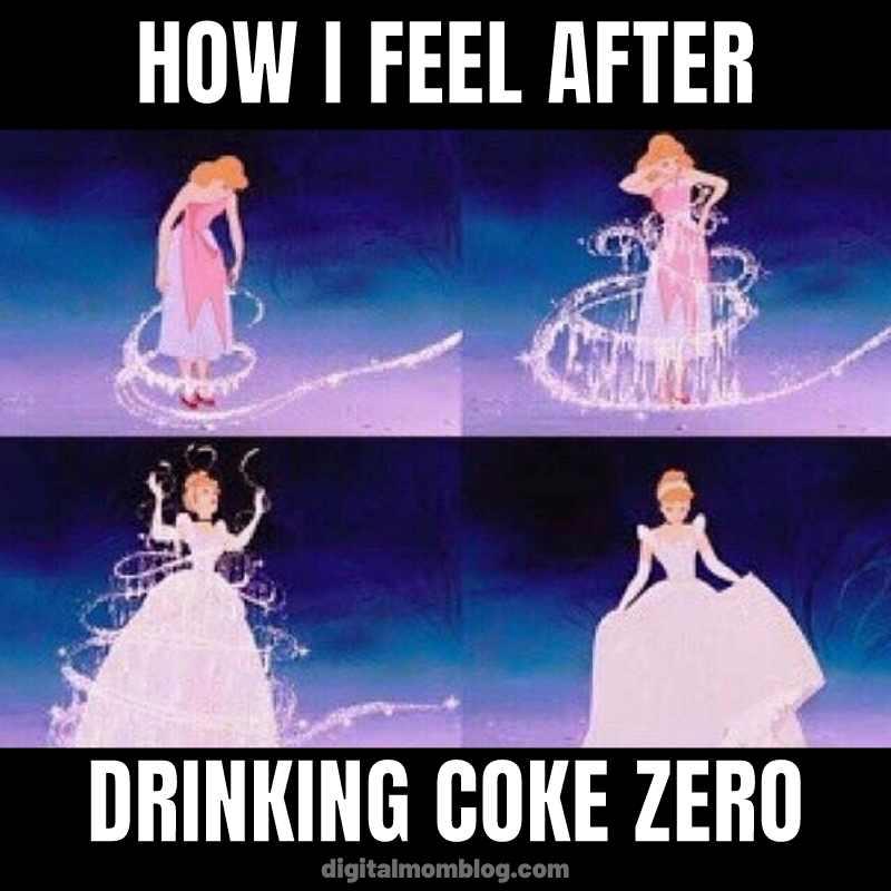 coke zero addict meme