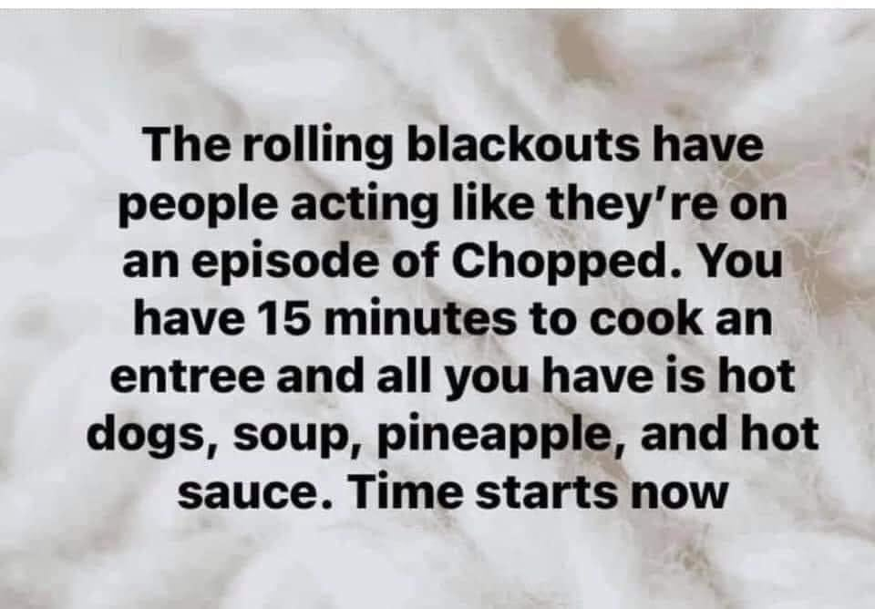 rolling blackouts meme