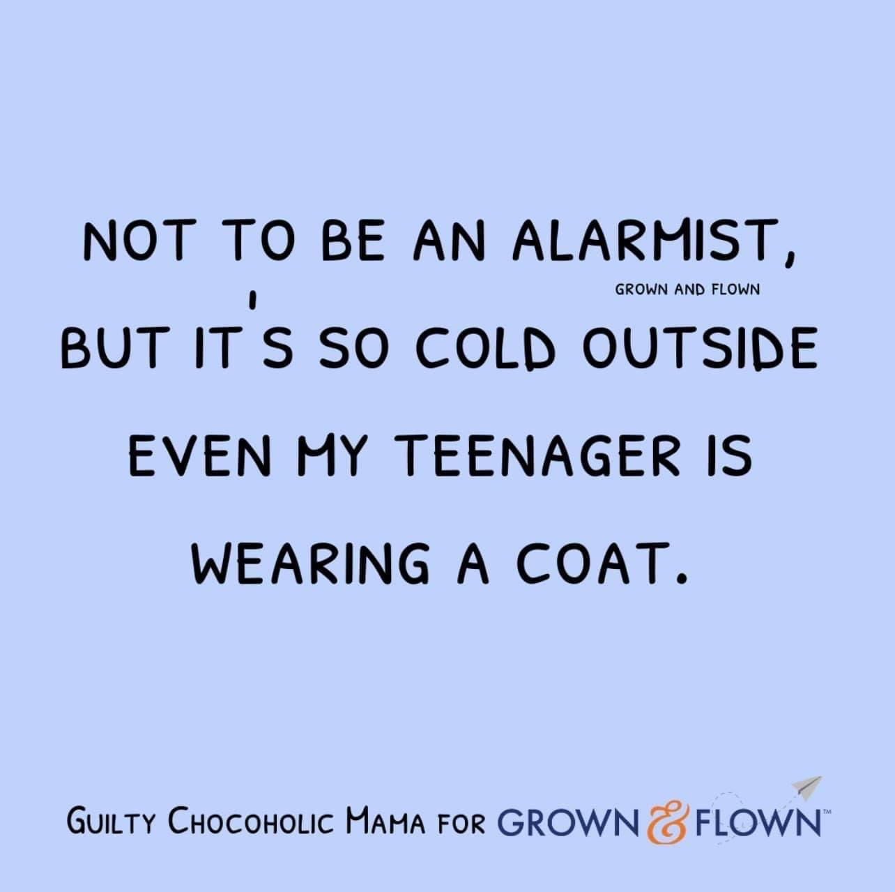 teenager wearing coat meme