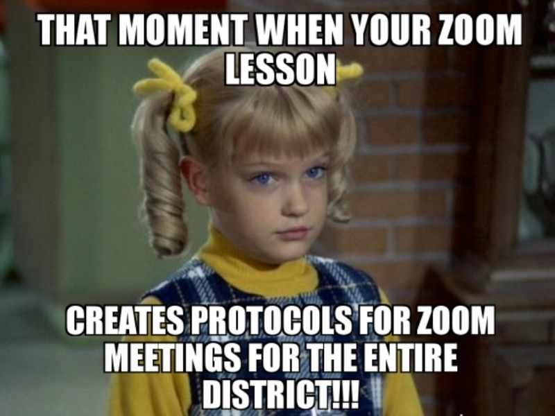 zoom rules meme